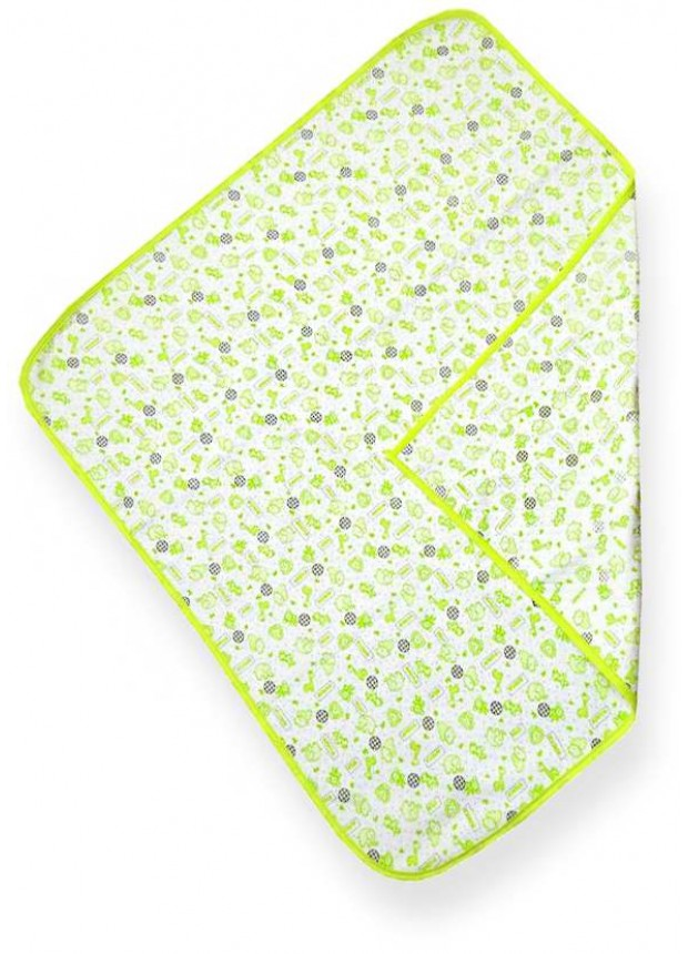 100% cotton high quality baby blanket wholesale green