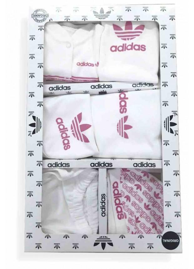 Боксерский комплект для малышек adidas розовый