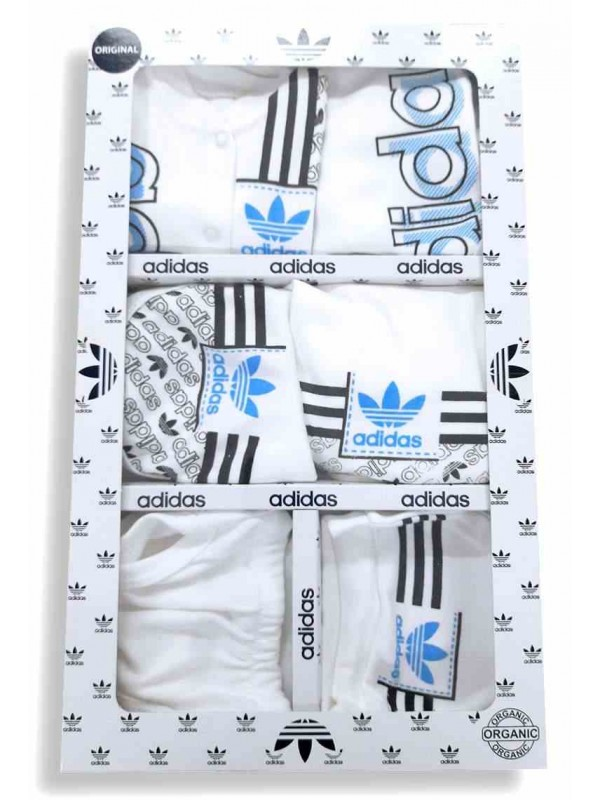 Боксерский комплект для малышек Adidas синий