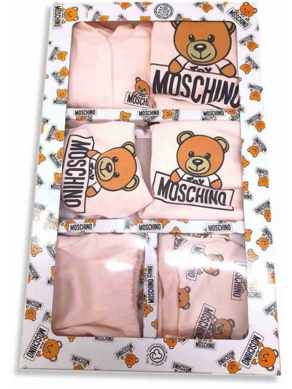 MOSCHINO Baby box set pink wholesale