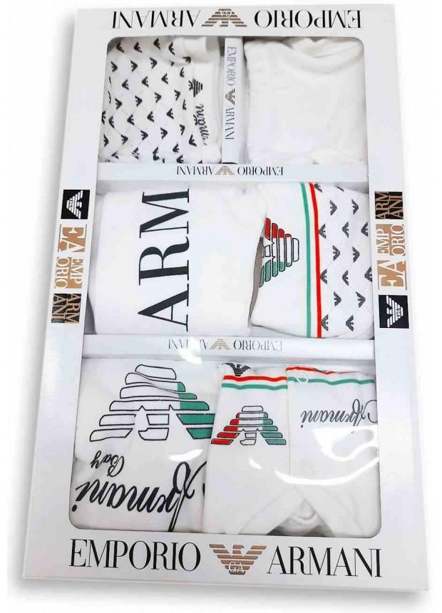 Emporio Armani baby set with box white