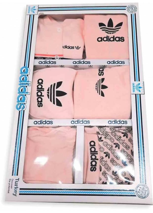 Детские боксерские комплекты ADIDAS черный розовый