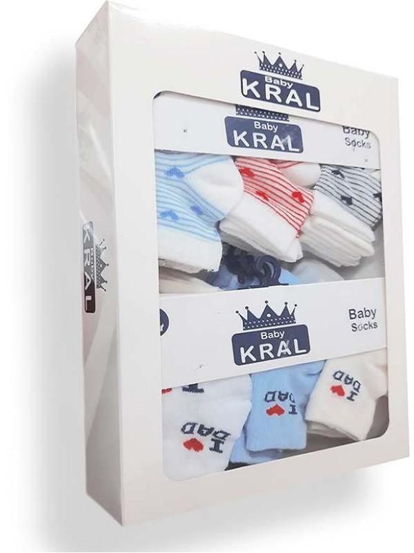 Детские носки 1 коробка = 12 детских носков оптом Мб