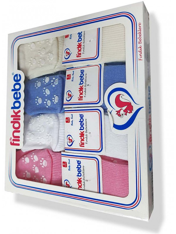 Baby socks 1 box = 12 bebe socks wholesale Mf