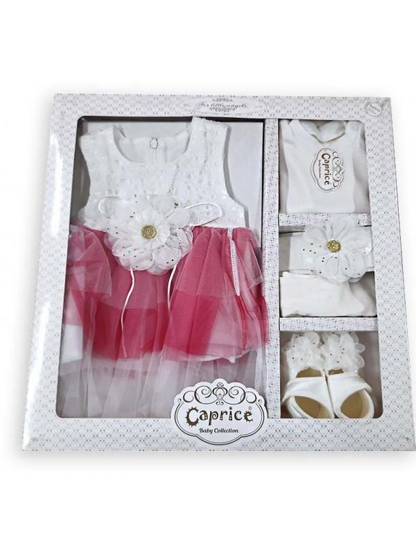 коробка для девочки отличного качества оптом фуксия