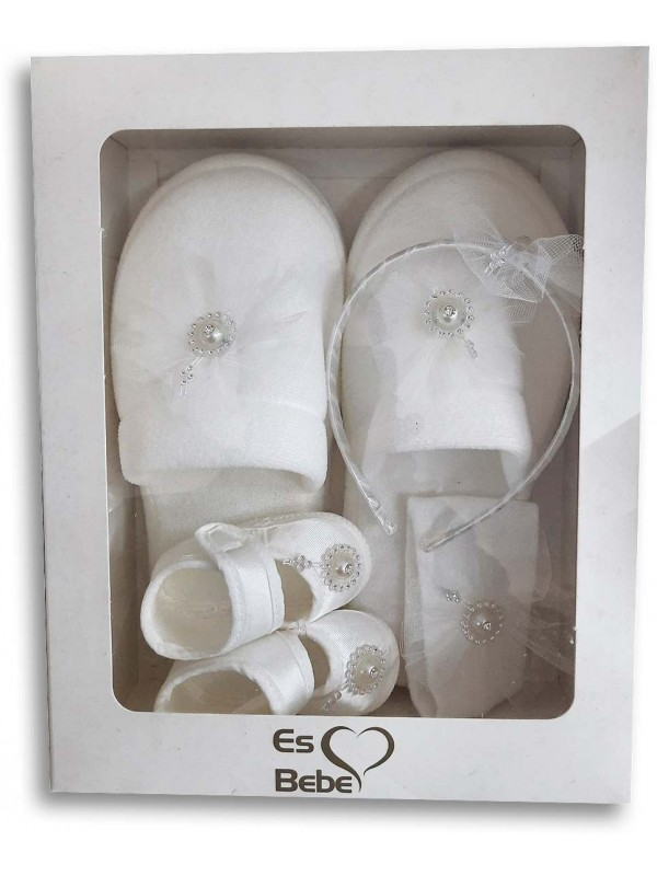 pregnant mother and baby products white in the box
