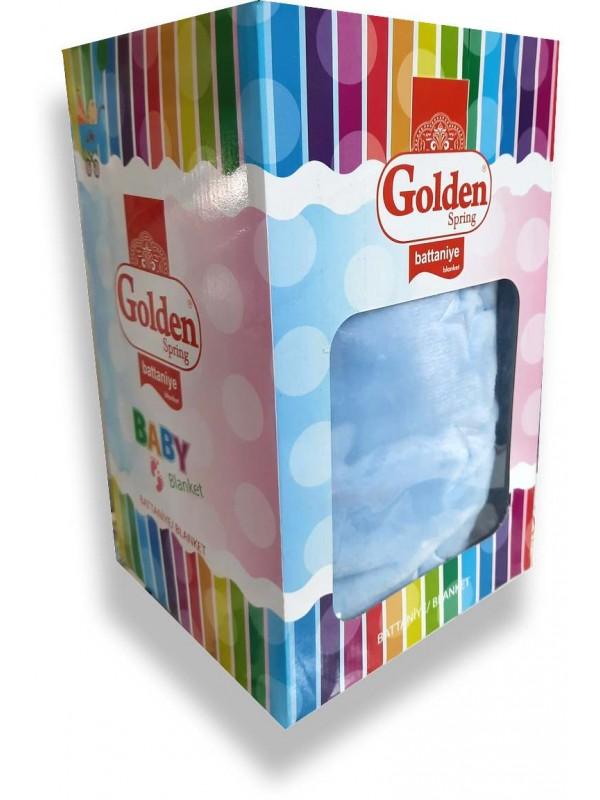 Голубое детское одеяло Golden Brand высокого качества оптом