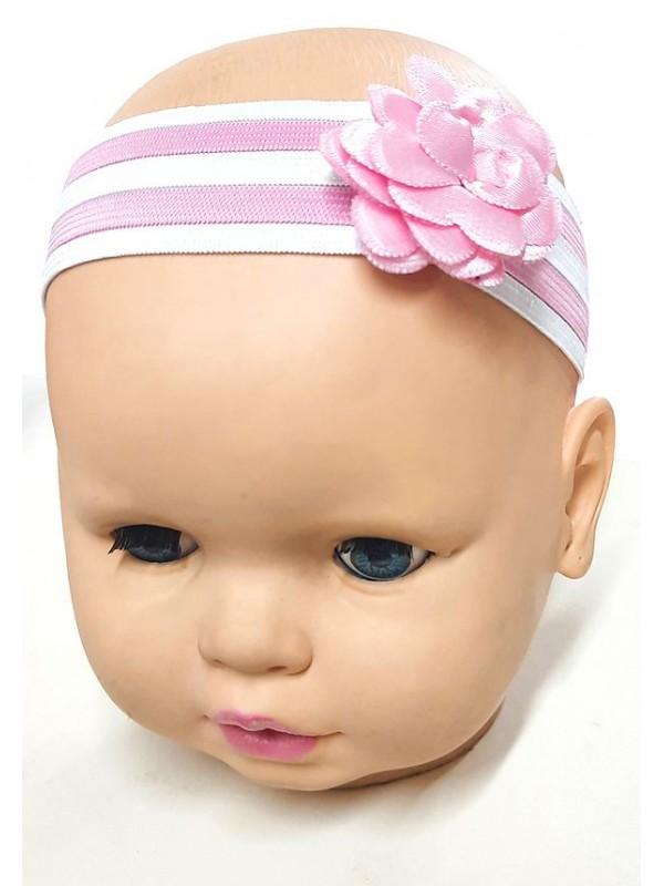 toptan kız bebek bandana saç süsü çiçekli M6