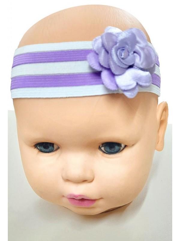 wholesale baby girl bandana hair ornament with flower M5