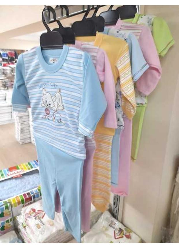 1 age children's pajamas suit 1 dollar wholesale