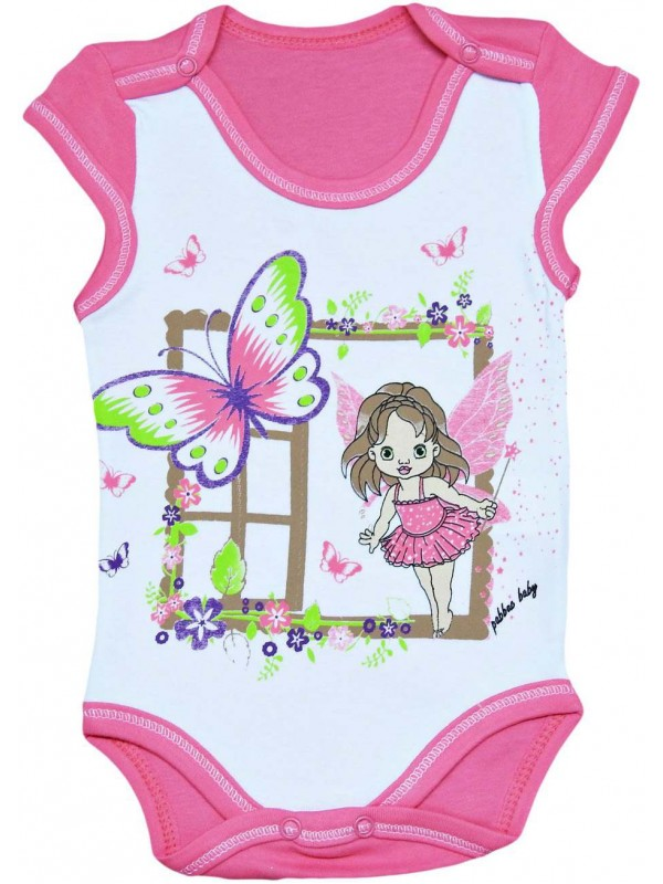 3-6-9-12 month summer baby bodysuit wholesale Model-b