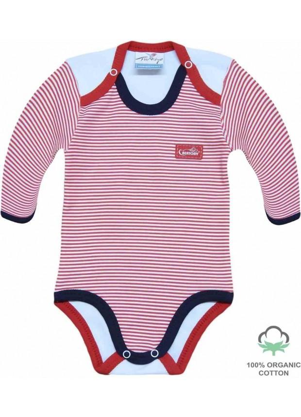 wholesale 100% cotton organic newborn rompers bodysuit red