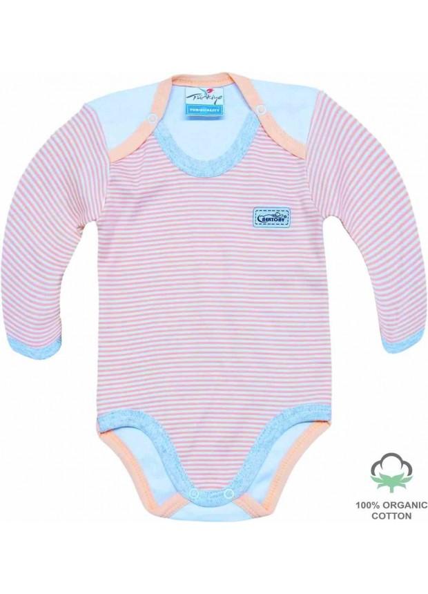 100% хлопок органический комбинезон для новорожденных боди розовый