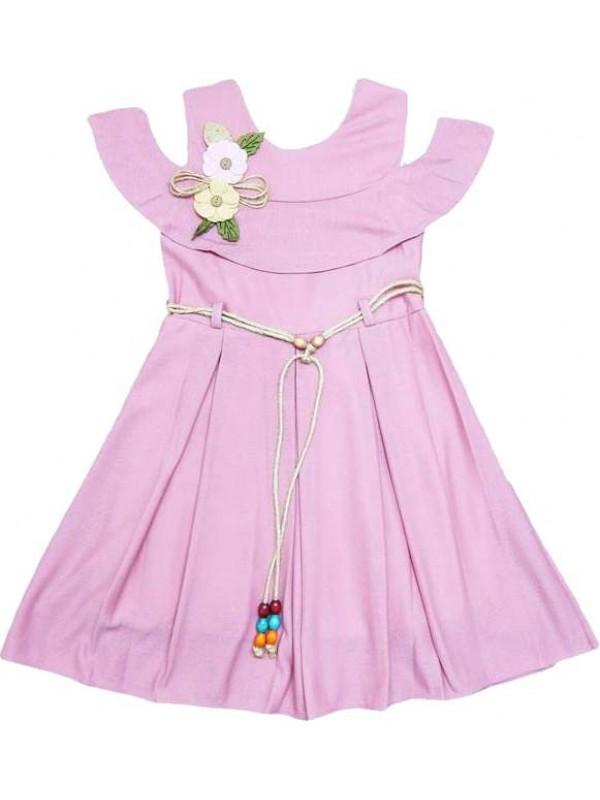 6-8-10-12 лет плиссированные платья для девочек оптом модель е