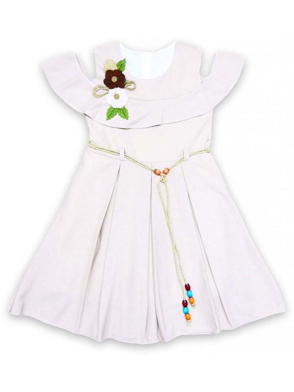 6-8-10-12 yaş pileli kız elbise toptan model d