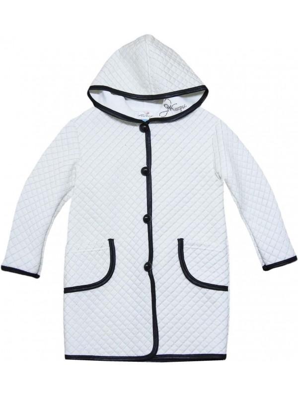 11-12-13-14 лет высококачественная куртка для девочек, белый цвет