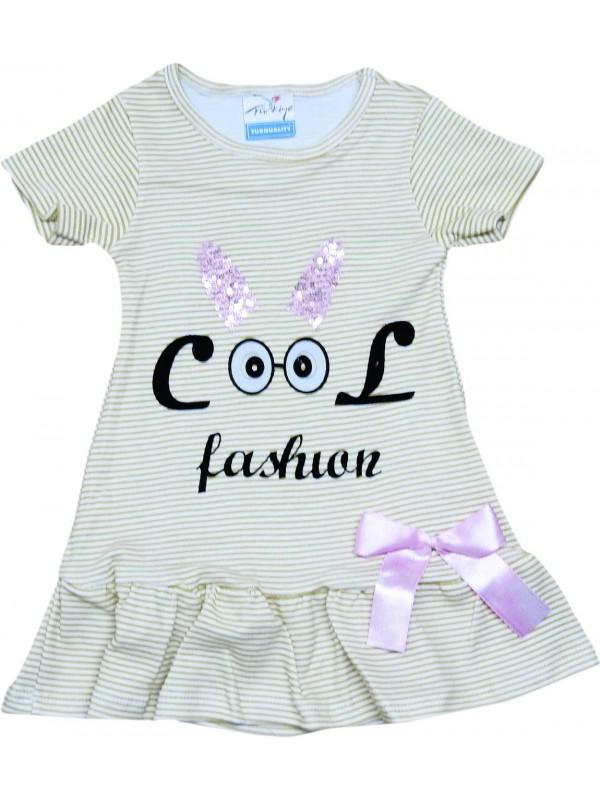 2-3-4-5 age girls dress wholesale fashion printed green