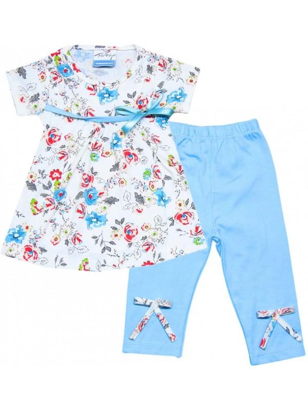 2-3-4-5 age wholesale summer girls dress pants turquoise