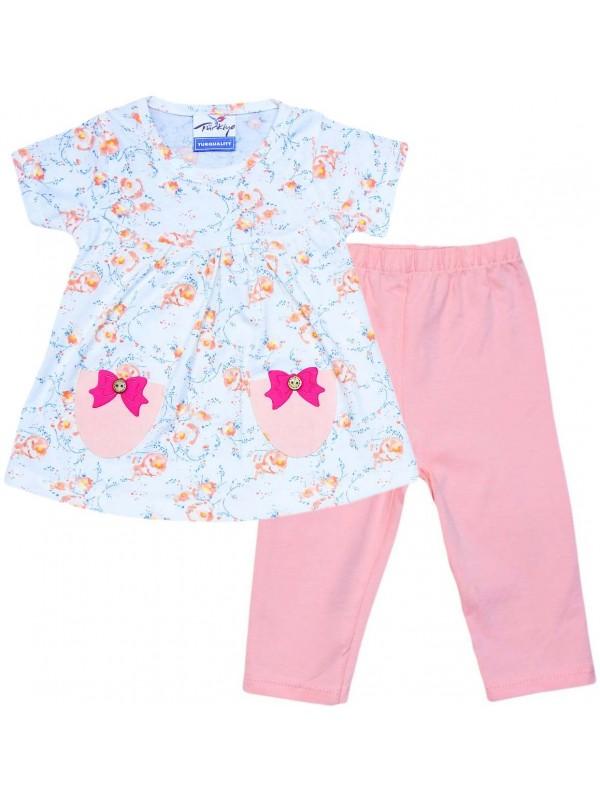 2-3-4-5 age wholesale very beautiful summer girls dress pink