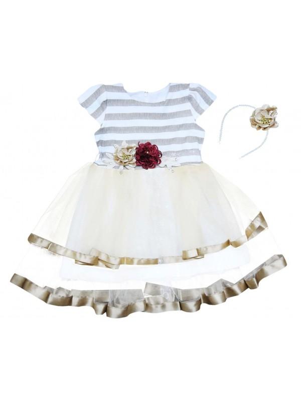 5-6-7-8 years old girl child wedding dress wholesale model 2