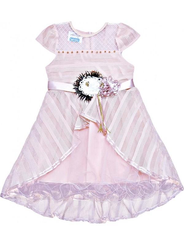 Детское свадебное платье для девочек 5-6-7-8 лет, оптовая модель 4