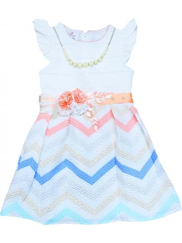 5-6-7-8 yaş kız çocuk gelinlik elbise toptan model 14