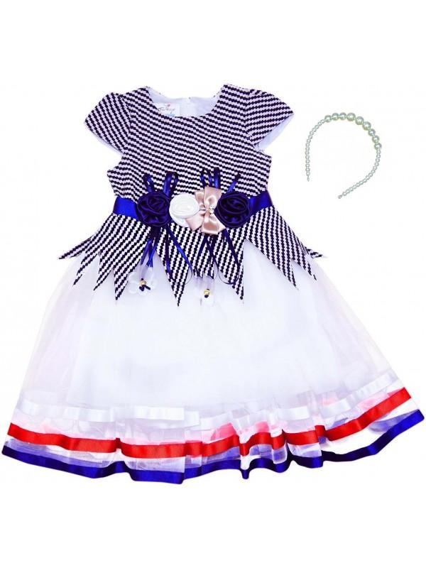 5-6-7-8 yaş kız çocuk gelinlik elbise toptan model 20