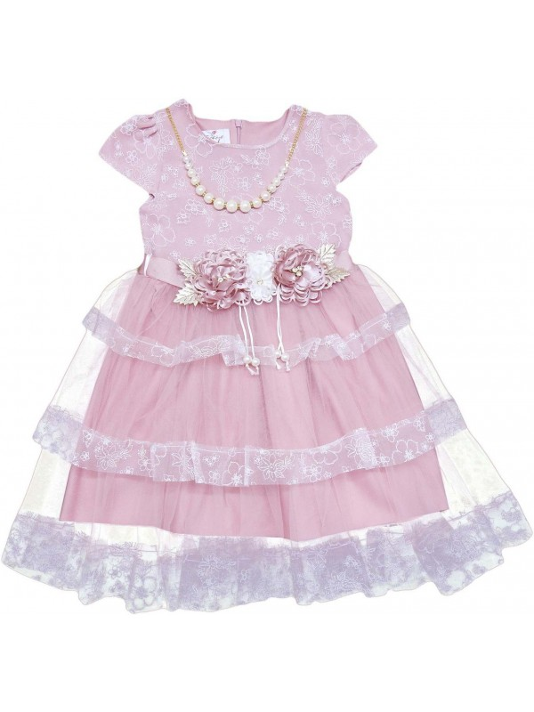 5-6-7-8 years old girl child wedding dress wholesale model 23
