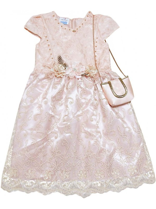 6-8-10-12 years old girls children wedding dress wholesale model 8