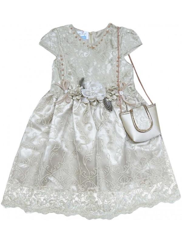 6-8-10-12 years old girls children wedding dress wholesale model 7