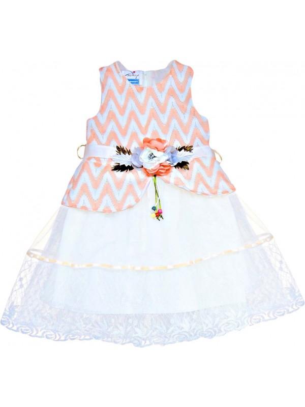 5-6-7-8 лет девочка свадебное платье оптом модель 18
