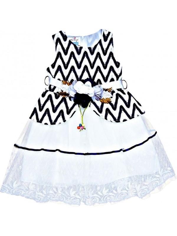 Детское свадебное платье для девочек 5-6-7-8 лет, оптовая модель 16