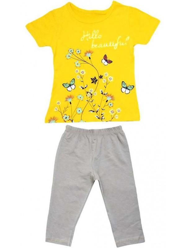 2-3-4-5 age summer wholesale girls dress double suit Mm