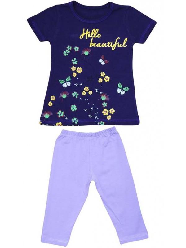2-3-4-5 age summer wholesale girls dress double suit Mn