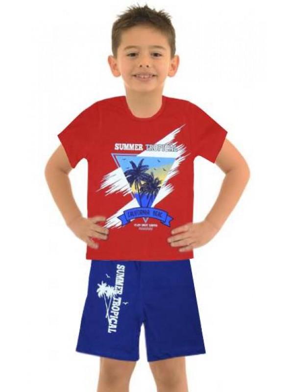 5-6-7-8 age wholesale cheap boy clothing summer suit M6