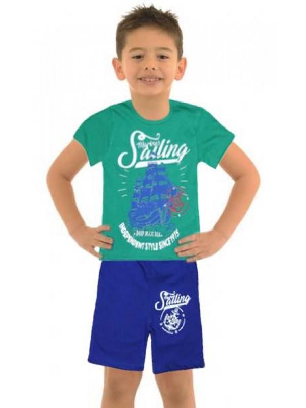 5-6-7-8 лет оптовая дешевая одежда для мальчиков летний костюм M11
