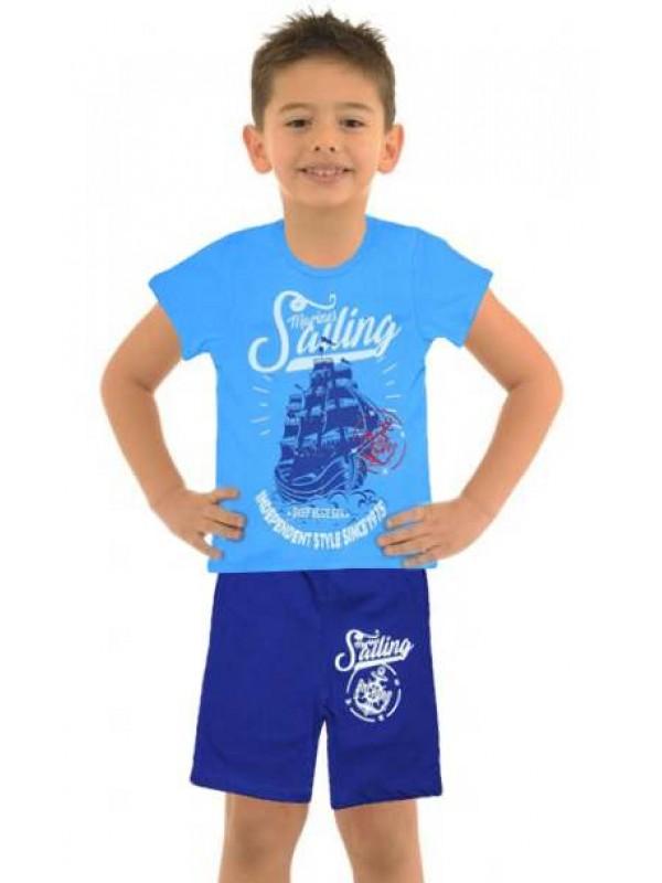 5-6-7-8 age wholesale cheap boys clothing summer suit M12