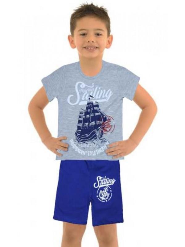 5-6-7-8 age wholesale cheap boy clothing summer suit M13