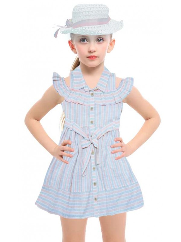 5-6-7-8 age new season girls dress wholesale model-c
