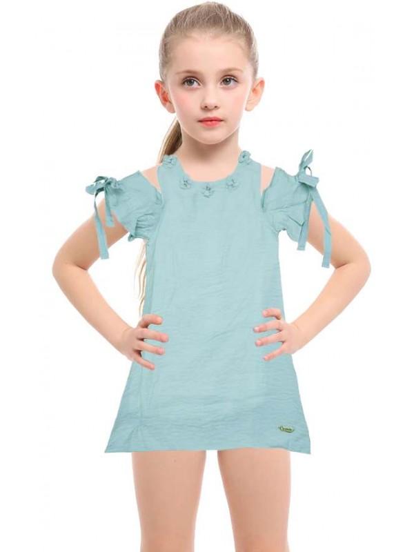 5-6-7-8 age new season girls dress wholesale model-d