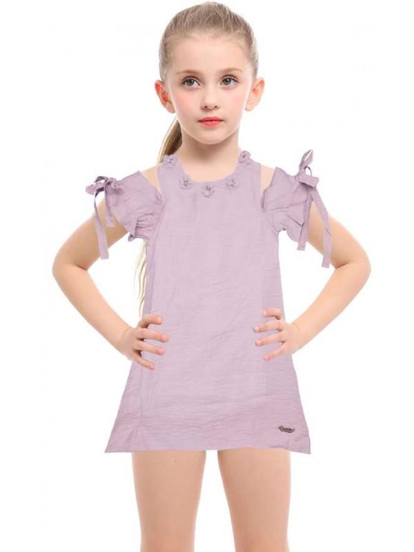 5-6-7-8 age new season girls dress wholesale model-e