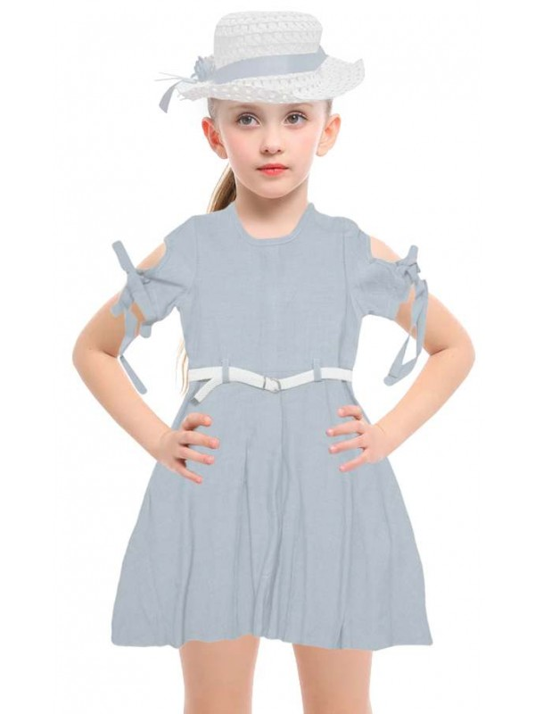 5-6-7-8 age new season girls dress wholesale model-h
