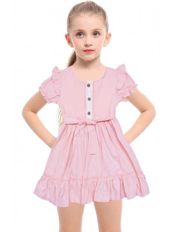 1-2-3 age flashy classy girl dress wholesale model-a