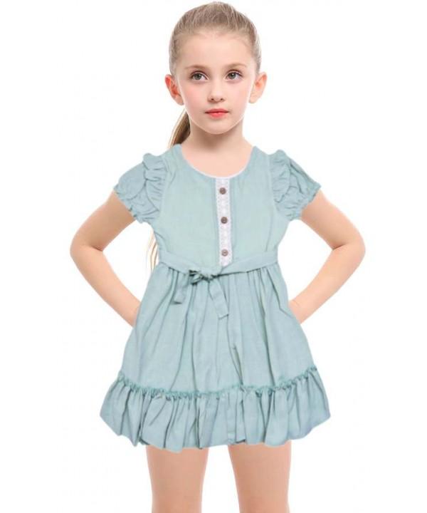 Яркие стильные платья для девочек 1-2-3 лет оптом модель-c