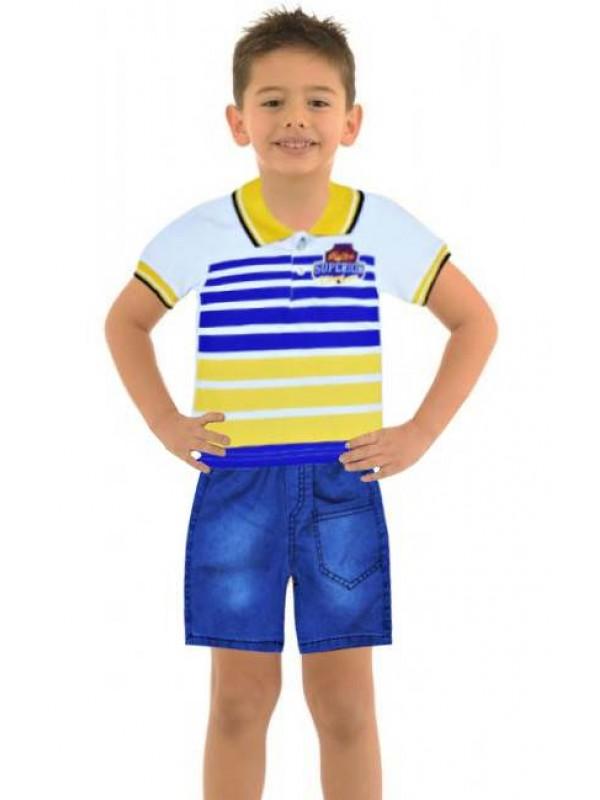 1-2-3 age summer boys clothing sets wholesale model-b