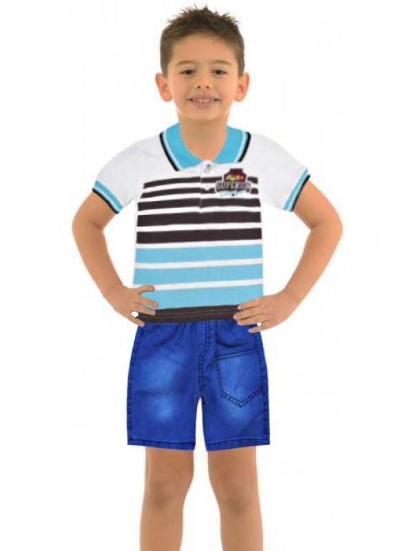 1-2-3 age summer boys clothing sets wholesale model-c