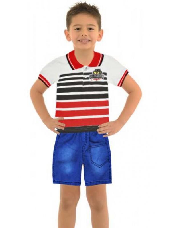1-2-3 age summer boys clothing sets wholesale model-d