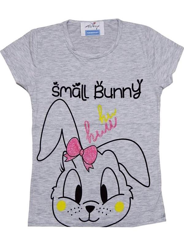 3-4-5-6-7 yaş ucuz kız çocuk tişört toptan R3