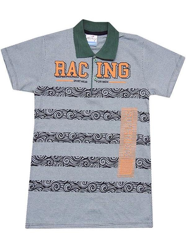 Дешевая летняя футболка для мальчиков 8-9-10-11-12 лет, lacoste collar R4
