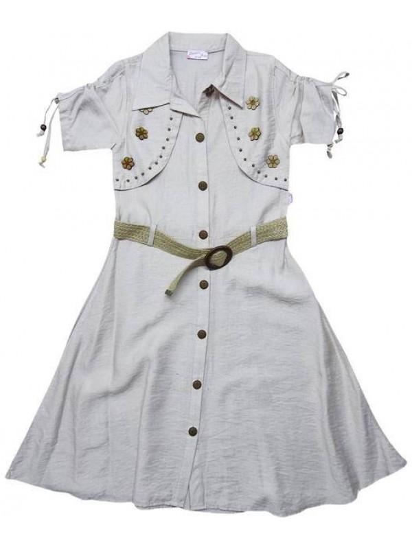 10-12-14 лет летние платья для девочек хорошего качества оптом model4